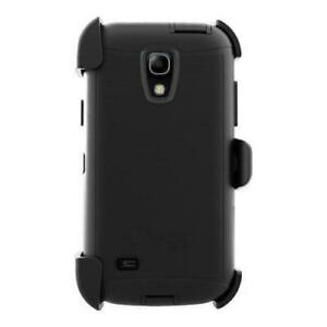 Original Authentic Genuine OEM Samsung Galaxy S4 Mini OtterBox Defender Rugged Tough Heavy Duty Case & Belt Clip Holster