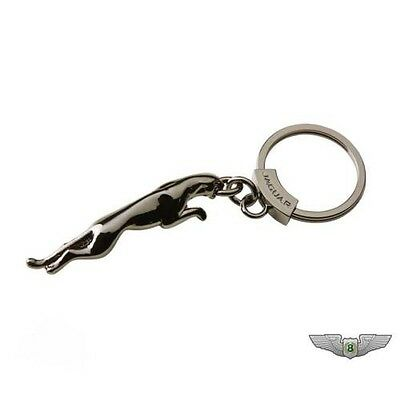 Jaguar Producto Original Leaper Llavero Llavero (Gun Metal) 50jdkr912gma