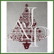 Completed Christmas Cross Stitch