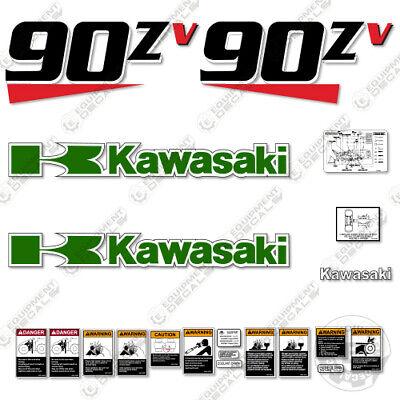 Kawasaki 90zv Decal Kit Wheel Loader - 3m Vinyl