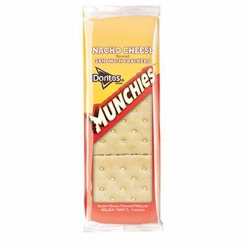 Cheetos Munchies NACHO Sandwich Crackers 8 Packets or 1 box