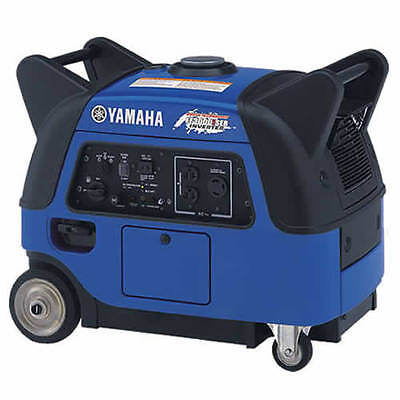 Yamaha Ef3000iseb - 2800 Watt Electric Start Inverter Generator W Boost Tech...