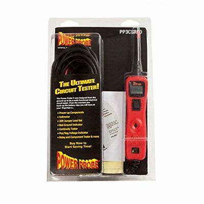 Power Probe Pp3csred Iii Circuit Tester Red Clam Shell 3csblu