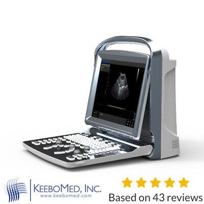 Chison Eco1-vet Veterinary Ultrasound Scanner W Micro-convex Probe And Printer