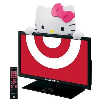 Hello Kitty 19″ Class 720p 60Hz LED TV/Monitor – Black/Pink/White (KT2219MBY)