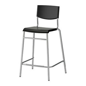 IKEA STIG  Bar stool with backrest (4 in Total)