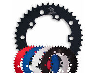 MCS 104 4 BOLT CHAINRING GEAR BMX 42T BLUE MADE IN THE USA