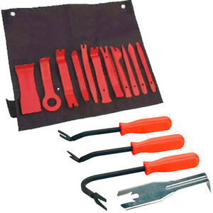 15 Piece Car Trim Door Panel Upholstery Van & Car Interior Removal Tool Set Kit