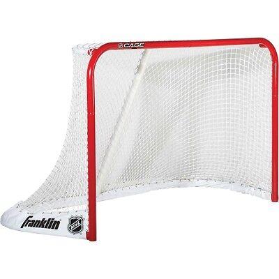 "FRANKLIN SPORTS NHL CAGE 72"" STEEL STREET/ICE HOCKEY GOAL"