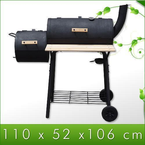 smoker bbq grill grillwagen barbecue holzkohlegrill ebay. Black Bedroom Furniture Sets. Home Design Ideas