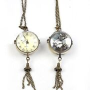 Clear Pocket Watch
