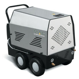 New Mac International Avant 240V 100 Bar Hot And Cold Industrial High Pressure Power Washer