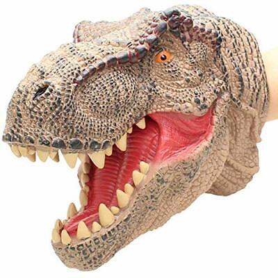 T-Rex Dinosaur Realistic Soft Plastic Hand Puppet Toy for Kids Tyrannosaurus  - Dinosaur Hands
