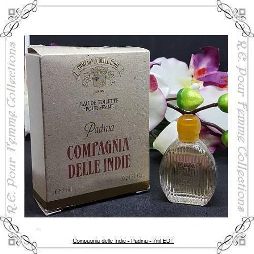 Padma+Compagnia+Delle+Indie+Vintage+Eau+De+Toilette+7ml+New+In+Box+Rare+Item