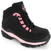 Womens Steel Toe Cap Boots