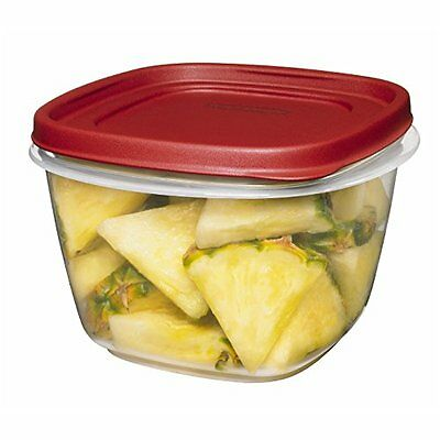 Rubbermaid Easy Find Lid Food Storage Container Bpa-free Plastic 7 Cup