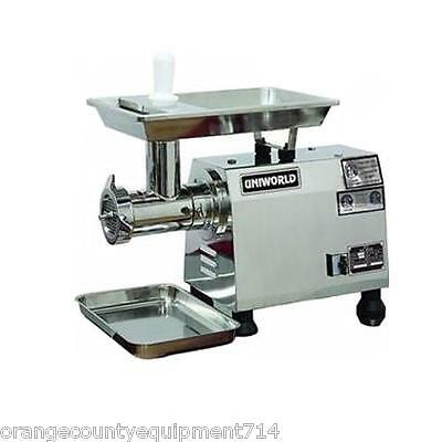 New Electric Meat Grinder 2 Hp Etlnsf Uniworld Tc-32e 4543 Heavy Duty Sausage