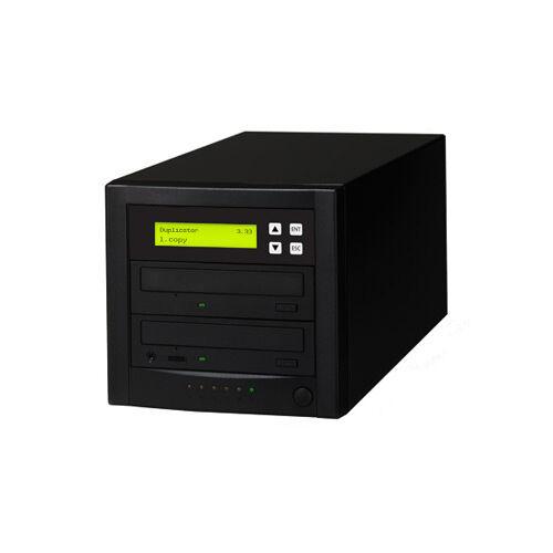 1 to 1 Target SATA DVD CD Duplicator Tower Burner Copy Copier NEW
