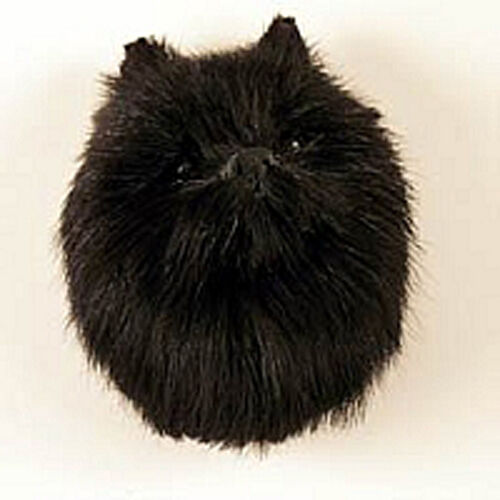 (1) BLACK POMERANIAN DOG FURLIKE MAGNET! CLOSEOUT ITEM. SELLING OUT ALL STOCK,