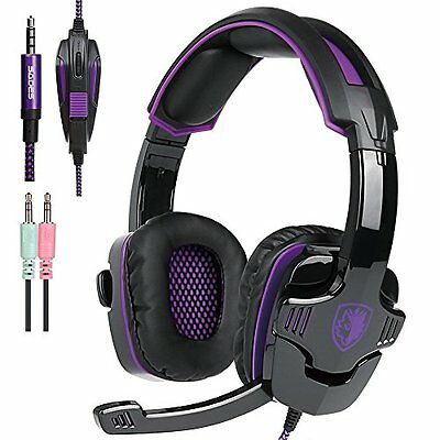 SADES SA930 Stereo Gaming Headset with Mic Volume Control for PC Xbox one PS4