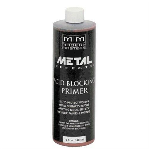 Am203-16 16oz Metal Effects Acid Blocking Primer, Part AM203-16, Modern Masters