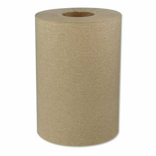 "GEN Hardwound Roll Towels, 1-Ply, 7.8"" x 325 ft, 12/Carton (GEN1801)"