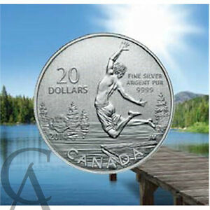 2014 Summertime $20 Pure Silver (#13 in the 20 for 20 Series) Gatineau Ottawa / Gatineau Area image 2