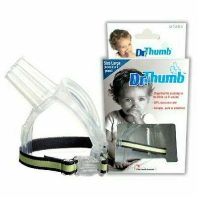Dr Thumb for Thumb Sucking Prevention Treatment Stop Thumb Large (3-7 Years)