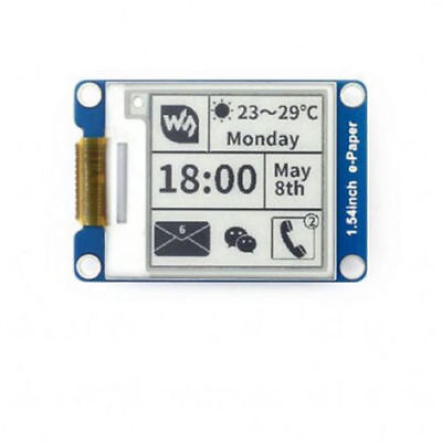 Waveshare 1.54inch E-ink Display Module E-paper Screen Shelf Label Spi Interface