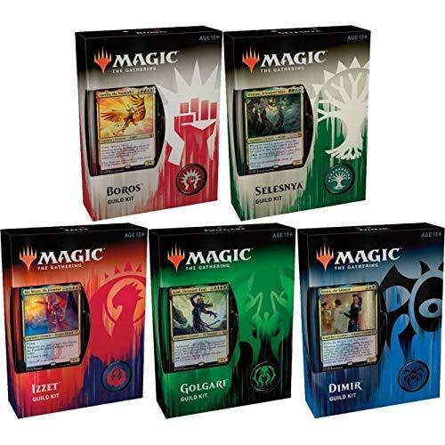 MTG Guild Kit Sticker x 5 all 5 colors guilds brand new !!!