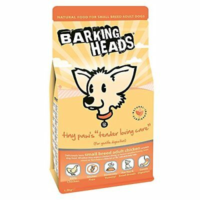 Barking Heads Dog Food Tiny Paws Tender Loving Care, 1.5kg
