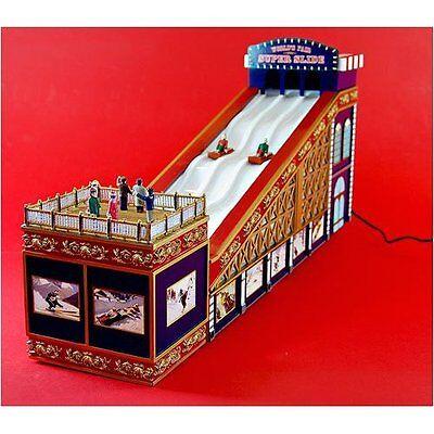 RARE MR CHRISTMAS World's Fair Bumper Cars Action//Lights Music Box MINT!!!