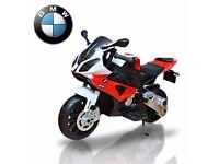 BMW S1000RR Motorbike Electric Ride On 12v Kids Bike Official Licensed BMW Bikes