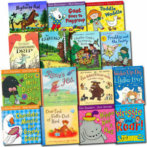 Julia-Donaldson-Collection-15-Children-Picture-Flats-Books-Set-Pack-Inc-Gruffalo