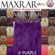 Lilac Human Hair Extensions
