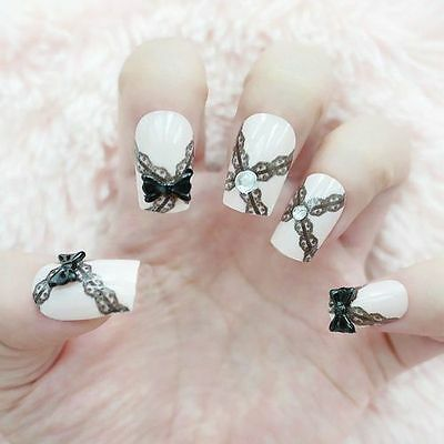 How to use 3d nail art stickers ebay non acrylic 3d nail art stickers prinsesfo Gallery