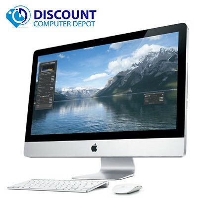 "Apple iMac 21.5"" Desktop Computer Core i3 3.06GHz 4GB 500GB Snow Leopard Mac OS"