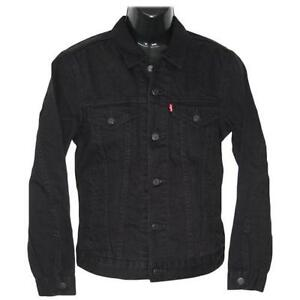 jeansjacke schwarz kleidung accessoires ebay. Black Bedroom Furniture Sets. Home Design Ideas