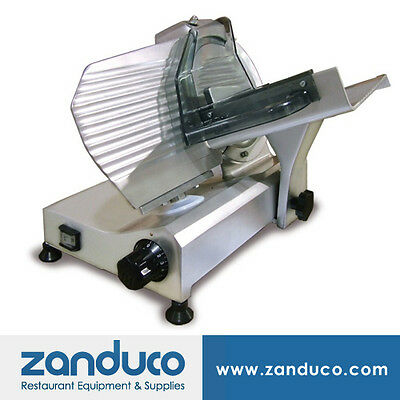 Omcan Commercial Italian Deli Vegetable Meat Slicer 9220 Mm Blade .25 Hp Etl