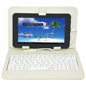 "9"" Proscan 4gb Android[tm] 4.1 Tablet WiFi + Key Board"