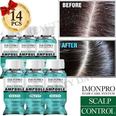 Solid Scalp Hair Control Hair Ampoule 14pcs Self Hair Clinic Treatment Home Care