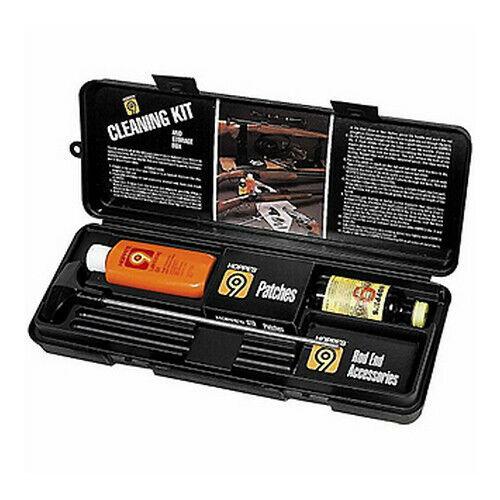 Hoppes Universal Pistol Cleaning Kit Gun Cleaner, Rod, Lube For All Calibers