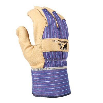 Wells Lamont Mens Medium Grain Pigskin Leather Work Glove