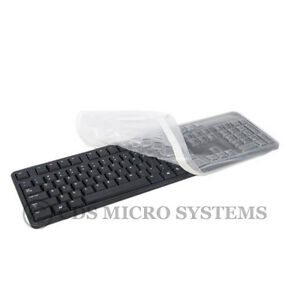 New Dell KB212-B L50U SK8120 KB4021 Desktop Clear Keyboard Cover Skin
