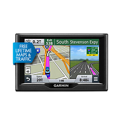 Garmin Nuvi 68Lmt 6  Gps With Lifetime Maps   Traffic Updates Brand New