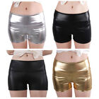Unbranded Leather High Waist Shorts for Women