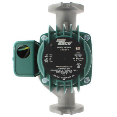 Brand New Taco 0012-sf4 Stainless Steel Cartridge Circulator Pump 18 Hp