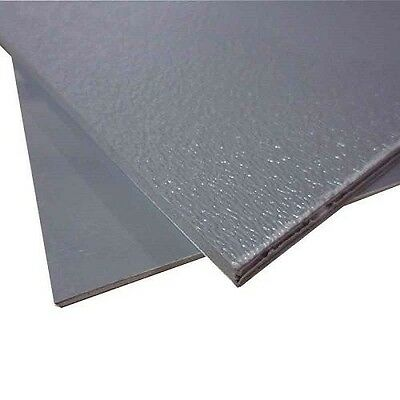 Abs Plastic Sheet Light Gray Vacuum Forming 18 Thick 8 X 12