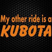Kubota Sticker
