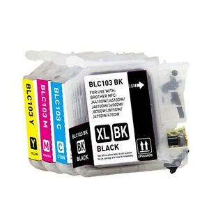 All Brand New Brother Ink Cartridges, LC61, LC51,LC75, LC103
